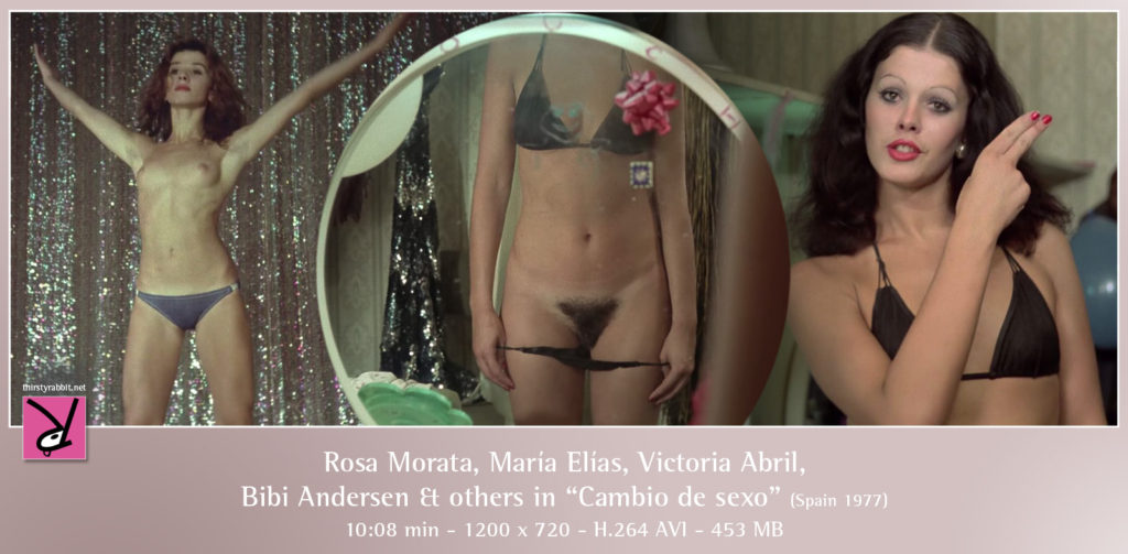 "Victoria Abril, Bibi Andersen, and others from Vicente Aranda's groundbreaking ""Cambio de sexo"" [1977, Spain]"