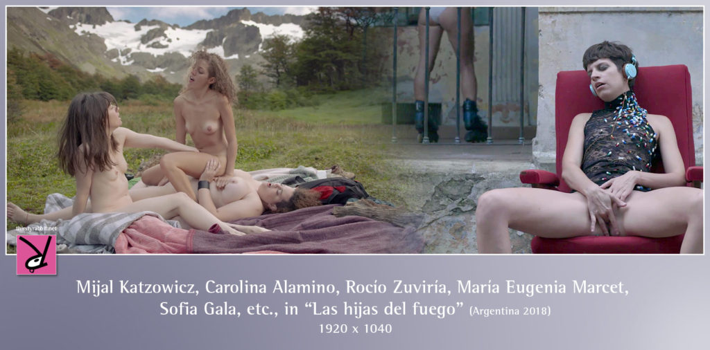 """Mijal Katzowicz, Carolina Alamino, Rocío Zuviría, María Eugenia Marcet and others nude in """"Las hijas del fuego"""" aka """"Daughters of Fire"""" (2018, Argentina)"""