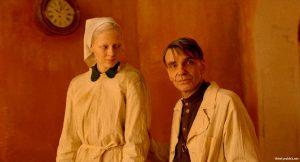 "Viktoria Miroshnichenko and Andrey Bykov in ""Beanpole"" (2019, Russia)"